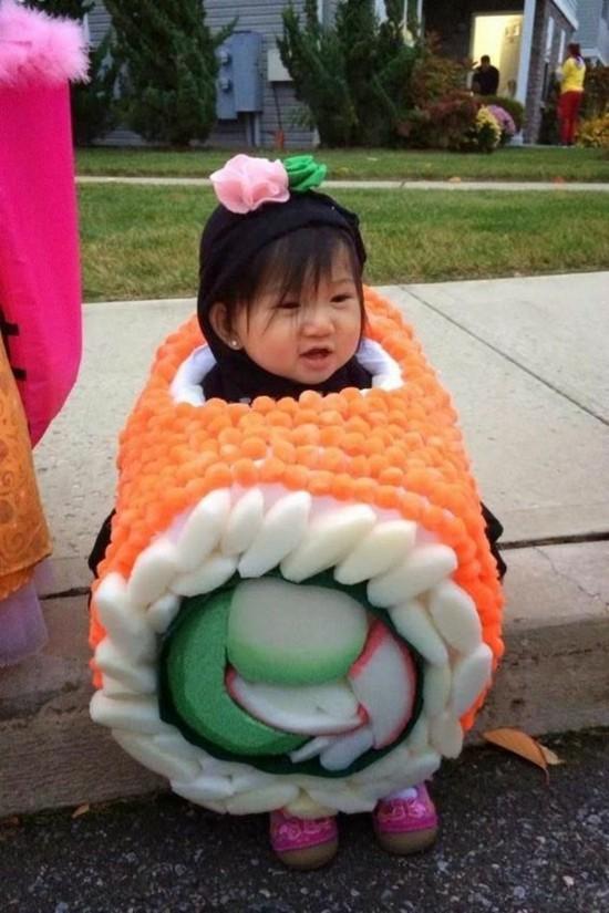 faschingskostüme kinder sushi