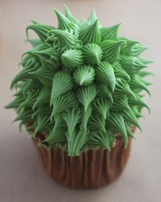 kaktus deko cupcakes ideen