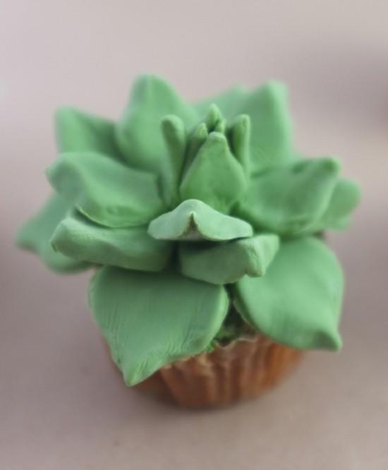 kaktus deko cupcakes selber machen
