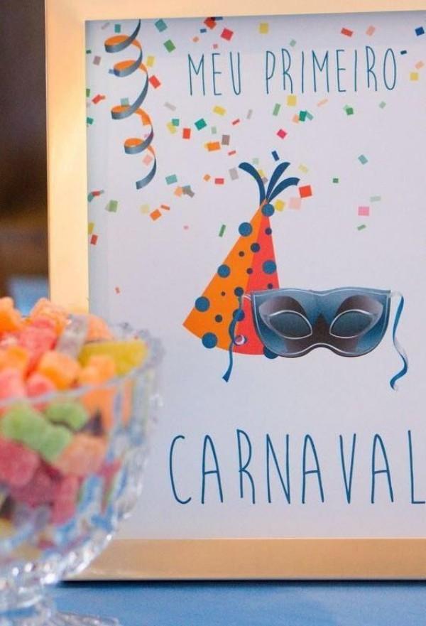 karnevalsbildwerk im rahmen dekoideen