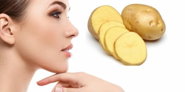 kartoffeln gegen geschwollene augen
