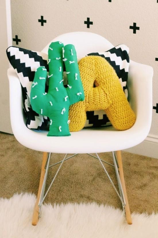 kissen kaktus deko