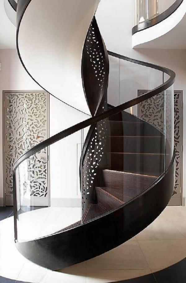 schöner weißer Teppich Treppenhaus