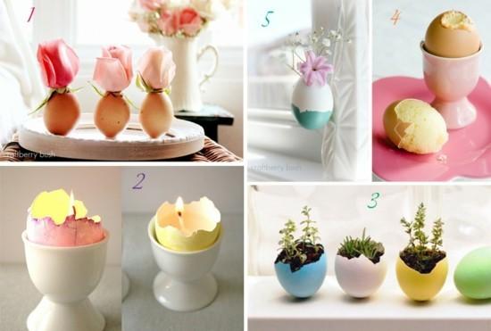 tischdeko selber machen ideen mit eiern