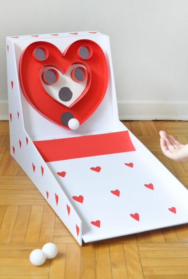 tolle Box mit Herzen Valentinstag