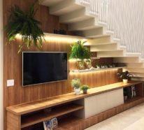 Über 60 Treppenhaus Ideen für die optimale Nutzung des Raumes unter der Treppe
