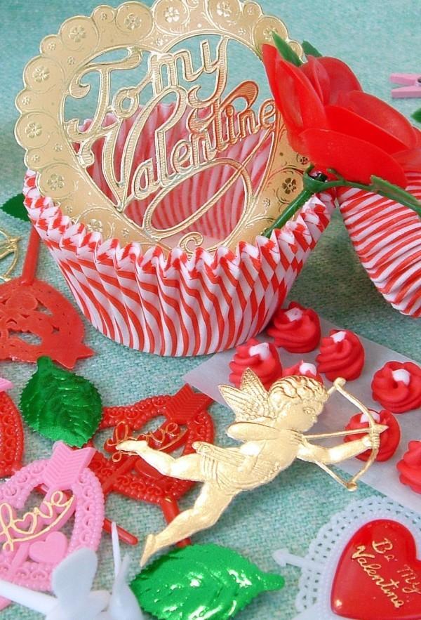 tolle gestrickte Details Valentinstag