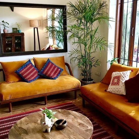 Bedroom Color Ideas India: 50 Einrichtungsideen Im Indian Style Für Ein Farbenfrohes