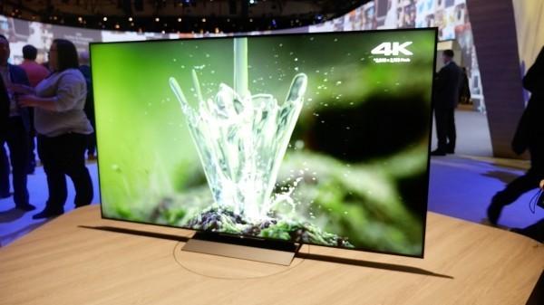 4K Fernseher grüner Bildschirm
