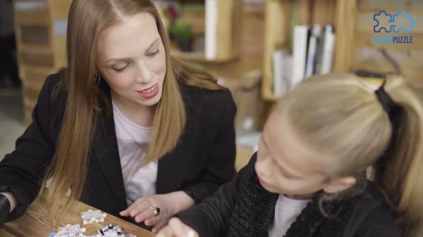 ActivePuzzle Frau und Kind