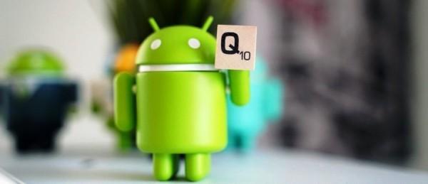 Android Q Beta ist hier für das Google Pixel android 10 maskot mit q
