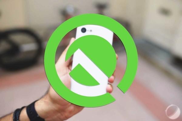 Android Q Beta ist hier für das Google Pixel android q logo google