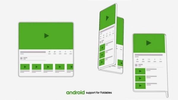 Android Q Beta ist hier für das Google Pixel support für foldable handys