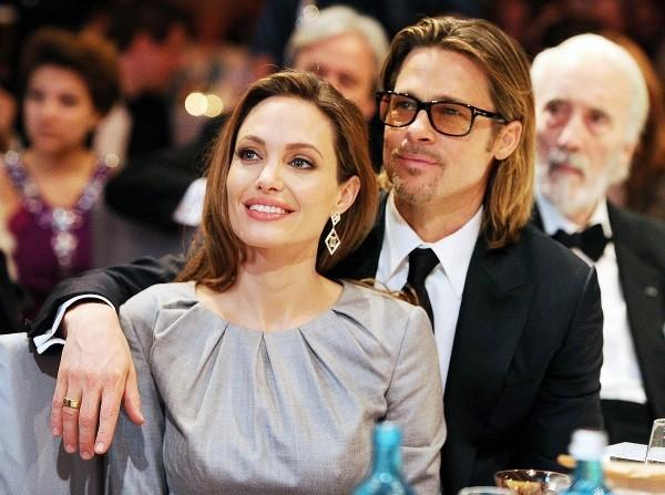Angelina Jolie Brad Pitt seit 2005 bis 2016 ein Paar