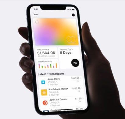 Die Apple Card ist eine neue Kreditkarte, die Sie mit Apple Pay benutzen können