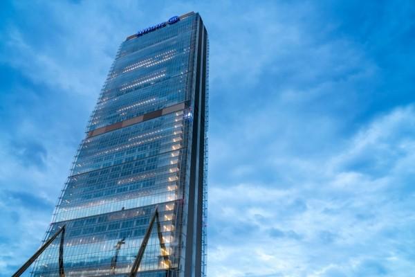 Arata Isozaki Pritzker-Architekturpreis 2019 Allianz Turm in Mailand 2015