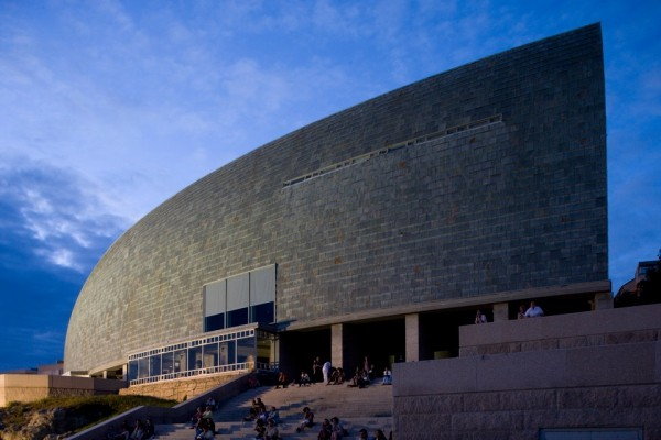 Arata Isozaki Pritzker-Architekturpreis 2019 Domus Museum in Galicien Spanien