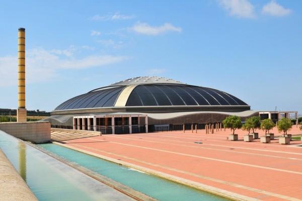 Arata Isozaki Pritzker-Architekturpreis 2019 Palau-Sant-Jordi-Stadion in Barcelona
