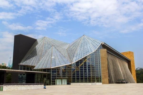Arata Isozaki Pritzker-Architekturpreis 2019 Shenzhen-Kulturzentrum in China Glaspyramiden 2007