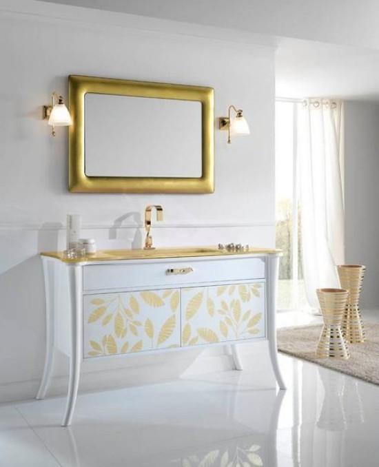 Badezimmer mit weiblichem Gespür