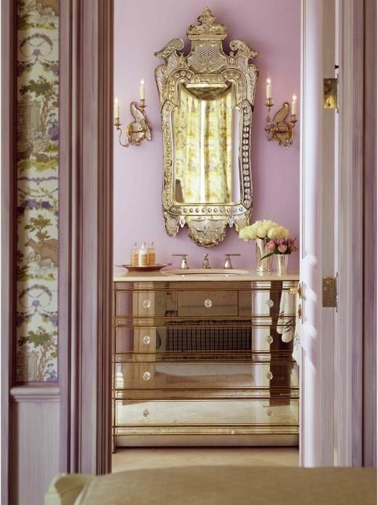 Badezimmer mit weiblichem Gespür stilvolle Einrichtung gut durchdacht visuelle Balance