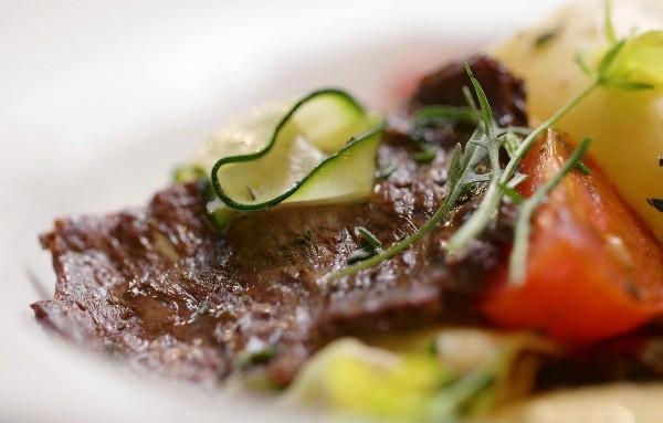 Beyond Meat führt vegetarisches Rinderhackfleisch mit höherem Proteingehalt als Fleisch ein das steak von aleph farms