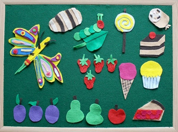 DIY Spielzeuge activity board Babyspielzeug selber nähen