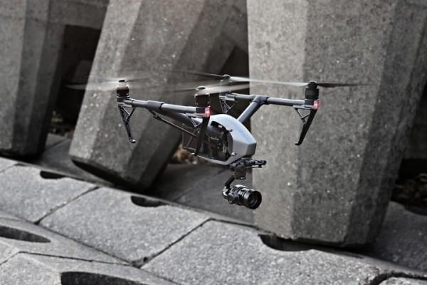 DJI INSPIRE 2 flugroboter für die stadt