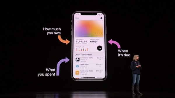 Die Apple Card ist eine neue Kreditkarte, die Sie mit Apple Pay benutzen können alle infos über eine bezahlung