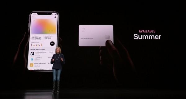 Die Apple Card ist eine neue Kreditkarte, die Sie mit Apple Pay benutzen können kommt sommer in den usa europa und australien noch unbekannt