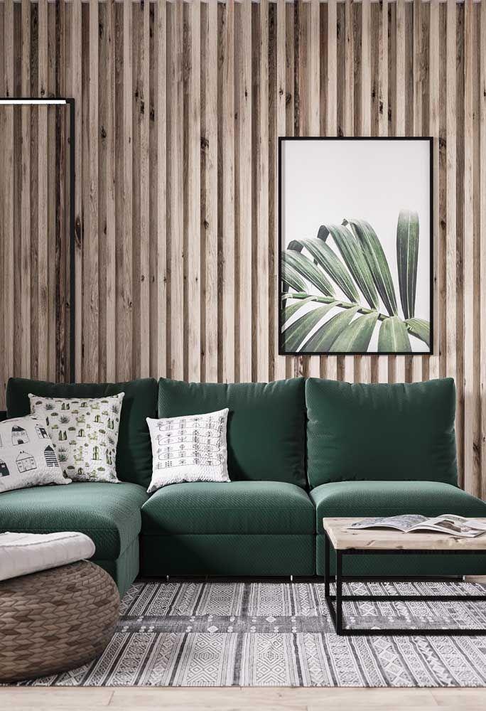 Einrichtung Ideen grün und braun - toll