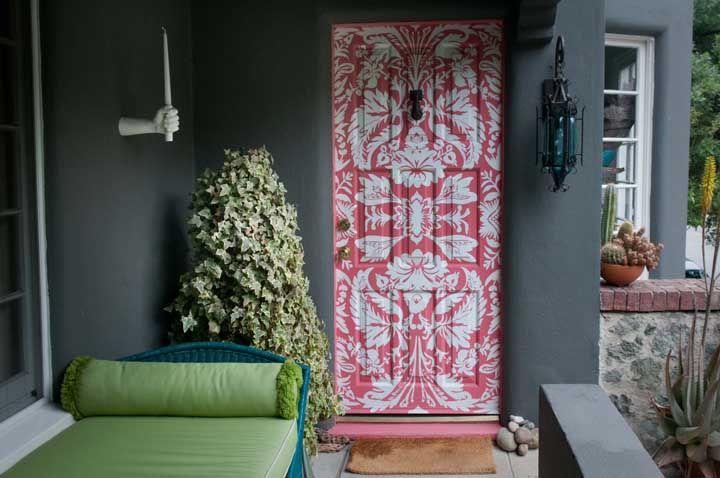 Einrichtung Ideen kombination aus rosas und grüns