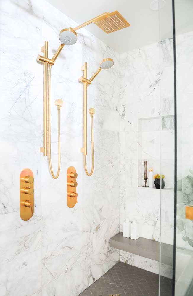 Einrichtung Ideen marmor und gold