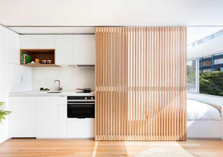 Einrichtung Ideen versteckte Küche