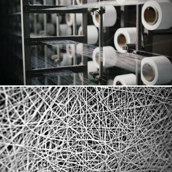 Futurelight – der weltweit fortschrittlichste Stoff von The North Face nanospinning technologie verwendet worden