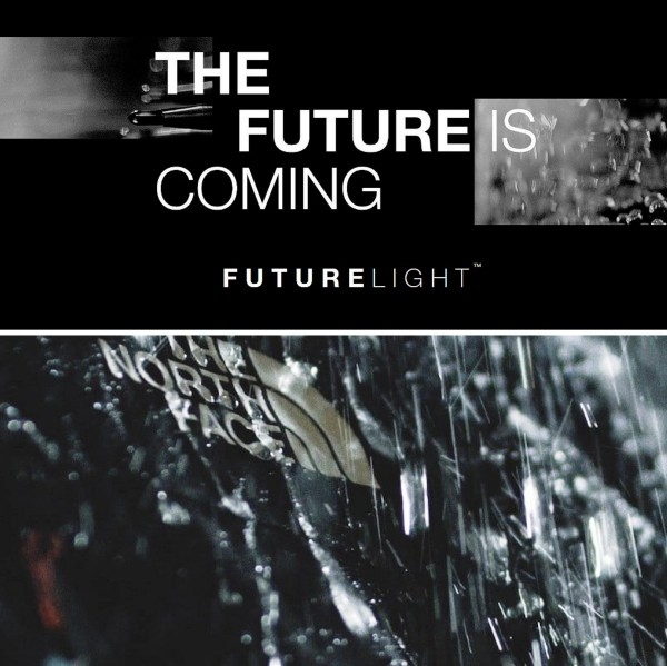 Futurelight – der weltweit fortschrittlichste Stoff von The North Face the future is coming innovativ sci fi
