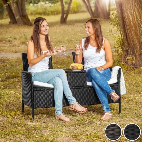 Gartenmöbeltrends 2019 – mit Rattan alles richtig machen sitzhocher für zwei für kleine bereiche