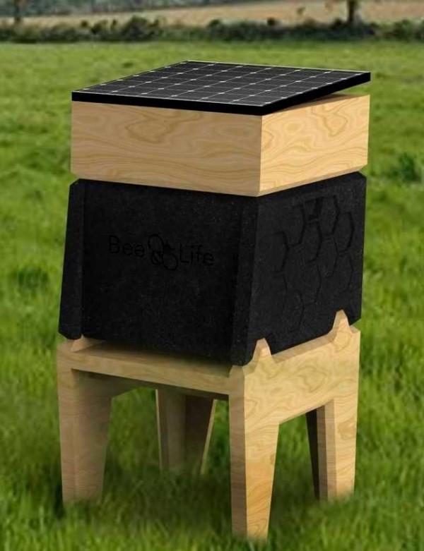 Hi-Tech Bienenstock CoCoon von BeeLife schützt Honigbienen vor Varroamilben das smart gadget von ces 2019