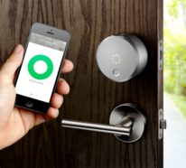 Erste drahtlose Hi-Tech Türklingel mit Kamera von August Home