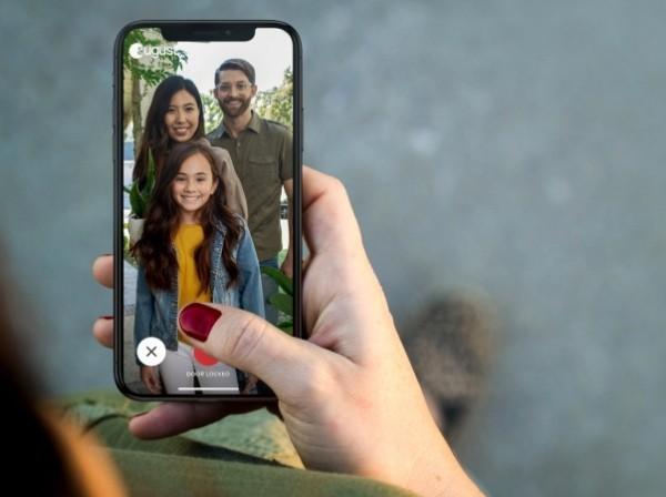 Hi-Tech Smart Türklingel mit Kamera von August Home echtzeit zweiwege kommunikation