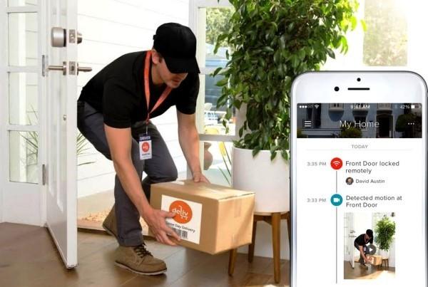 Hi-Tech Smart Türklingel mit Kamera von August Home nicht die bösen fernhalten sondern die richtigen einlassen