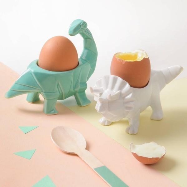 Lustige Dinosaurier Eierbecher