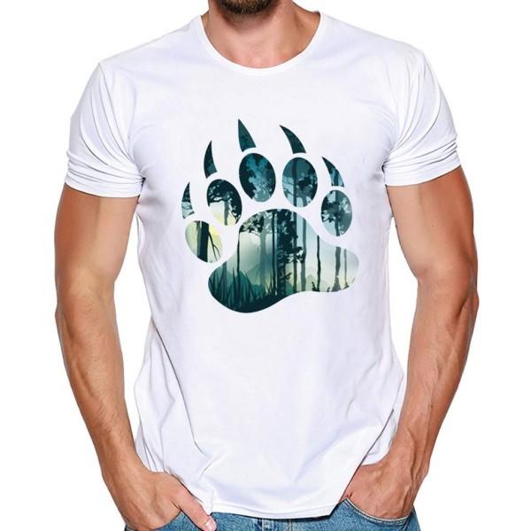 Muster von einem Tier bedruckte T-Shirts