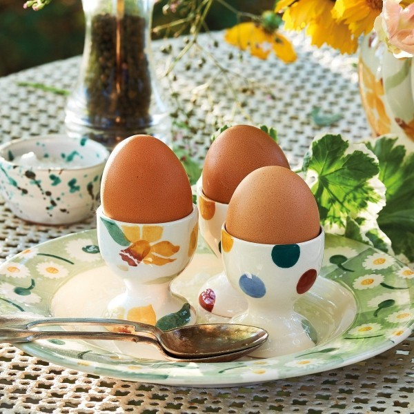 Pflanzliche Muster Eierbecher