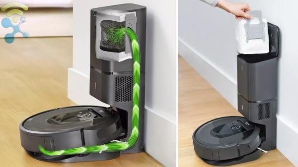Roboterstaubsauger intelligente entsorgung