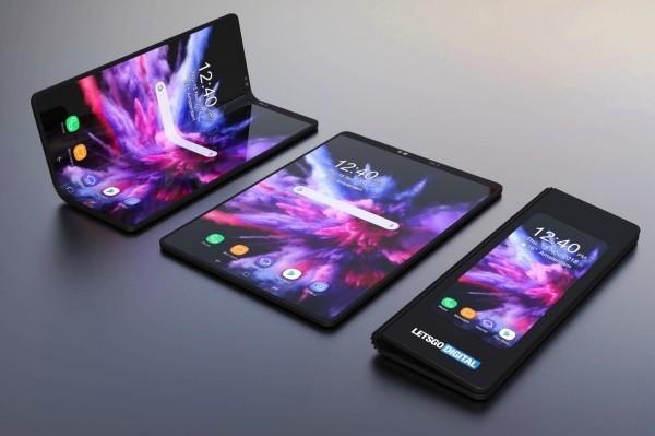Samsung Galaxy Fold erscheint bald auf dem Markt – Hier ist alles, was Sie darüber wissen sollten schwarz mit lila farben drei modi