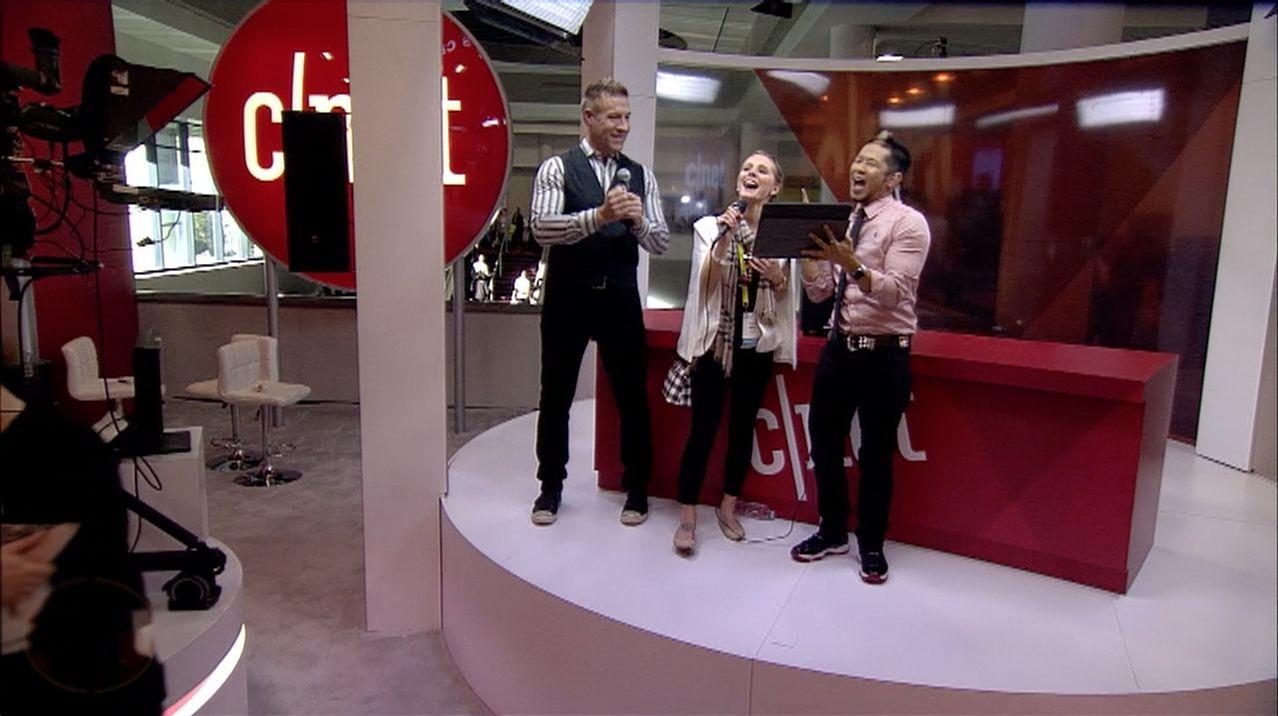 Singende Gruppe von Singtrix