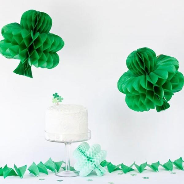 St. Patricks Day Deko Elemente zum irischen Fest