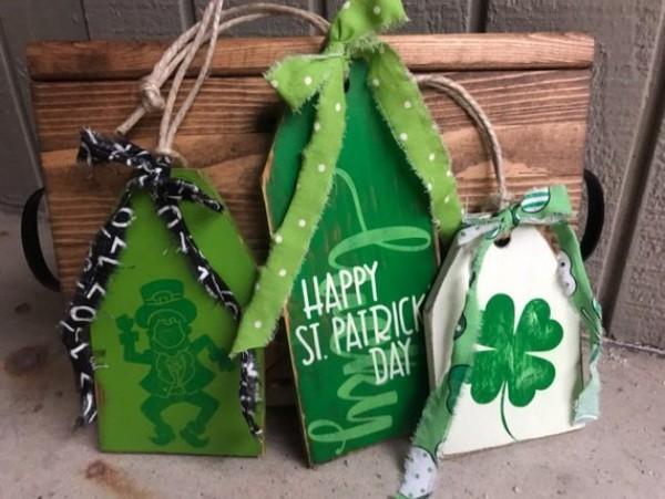 St. Patricks Day Deko Ideen Elemente zum irischen Fest