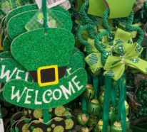Am St. Patricks Day feiert die Welt in Grün
